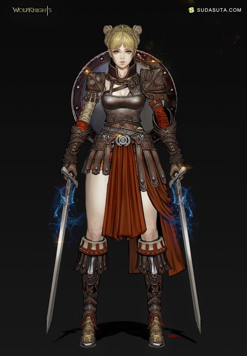 Sonacia 游戏造型设计CG