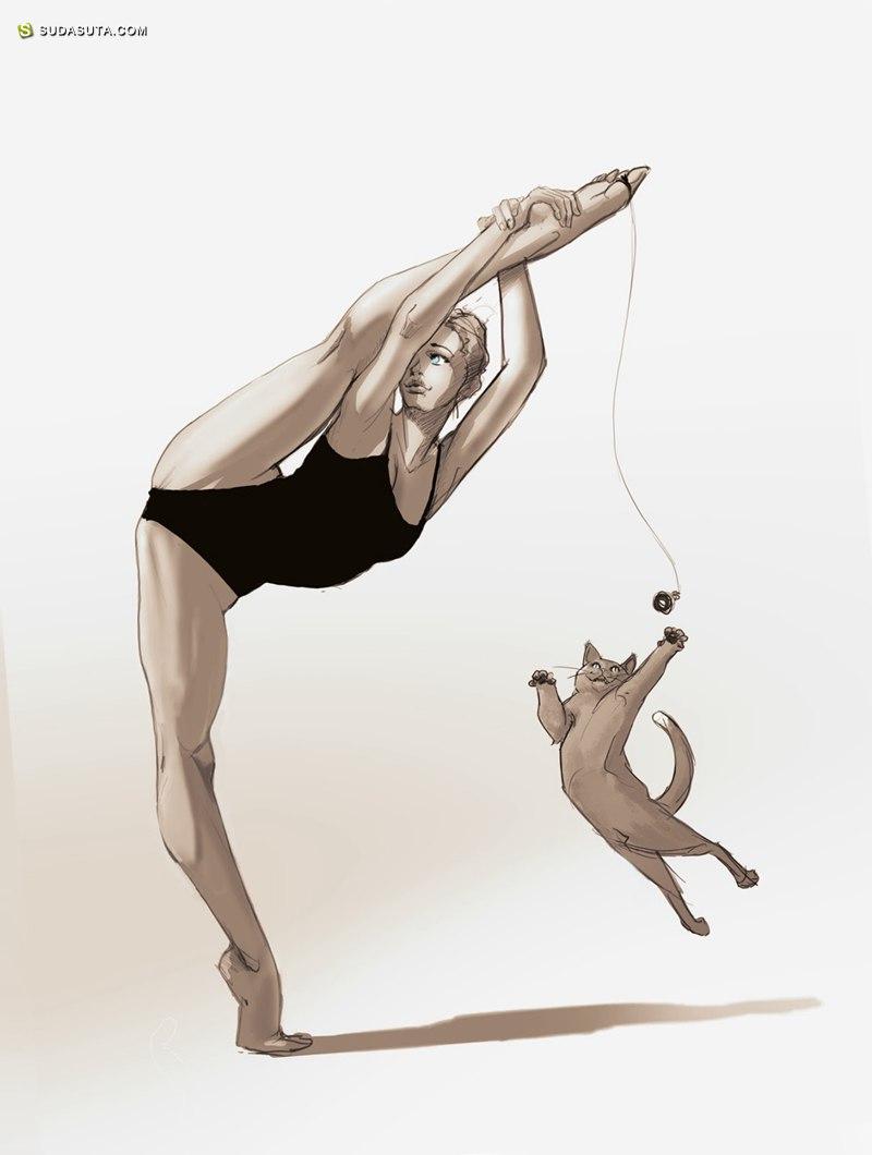Ricardo Rodrigues  性感惹火的数字艺术插画欣赏