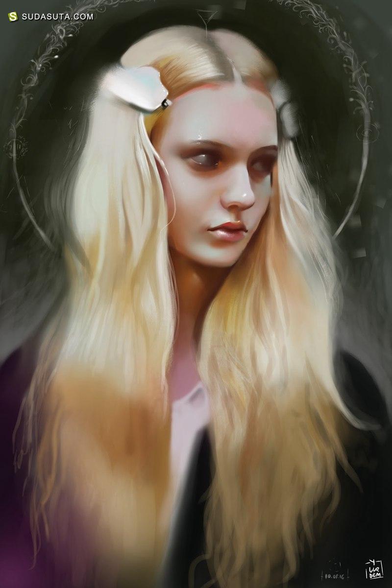 Yasar Vurdem 明星电影肖像插画