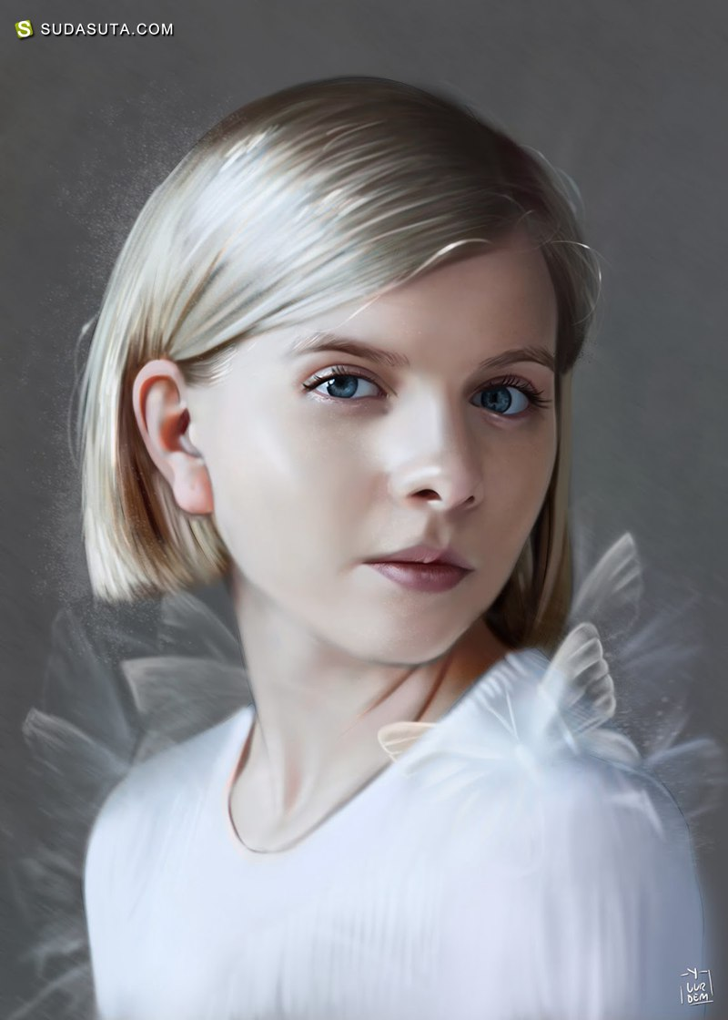 Yasar Vurdem 肖像插画欣赏