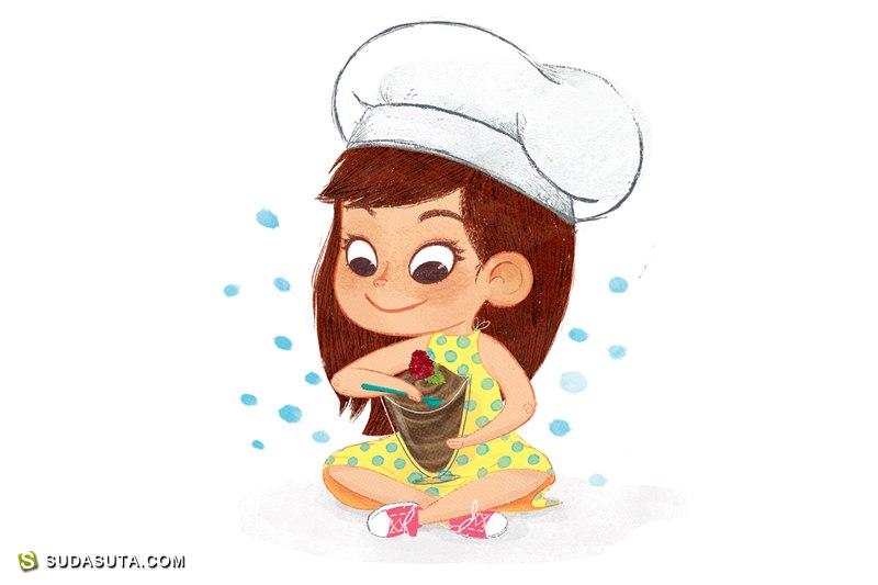 Gemma Román 儿童插画欣赏
