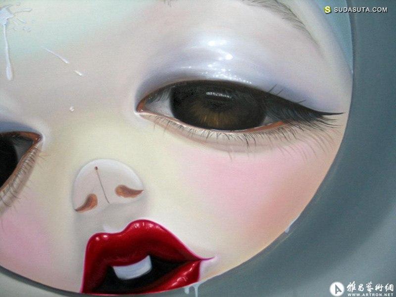 杨纳 超现实主义绘画艺术欣赏