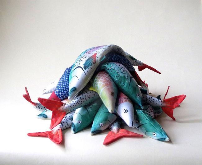 Alia Grace 有趣的鱼眼罩