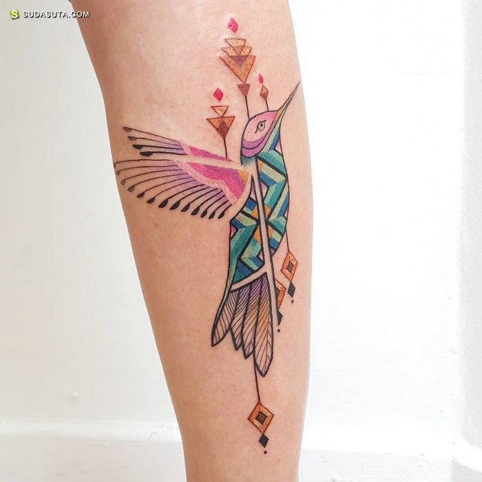 Brian Gomes 纹身设计欣赏