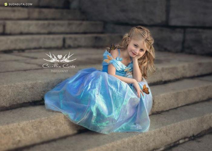 那些扮演迪士尼公主的孩子们