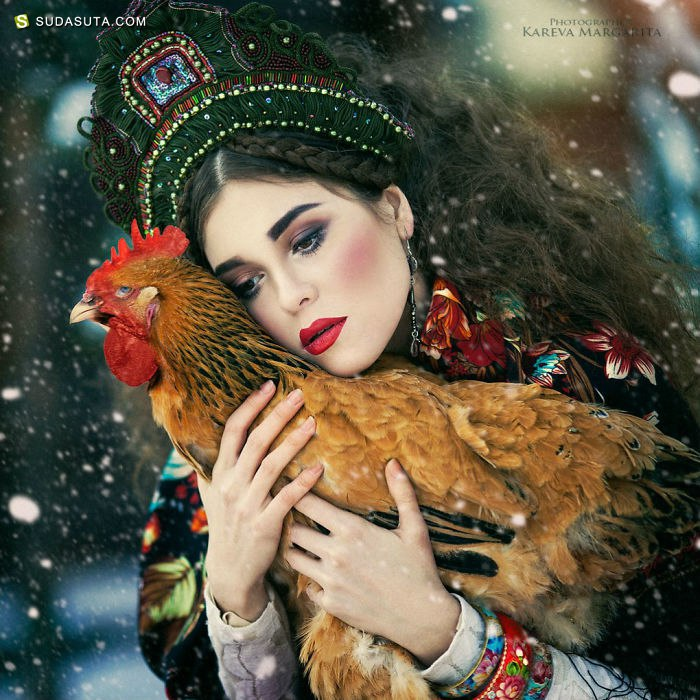 Margarita Kareva 超现实主义幻想摄影欣赏