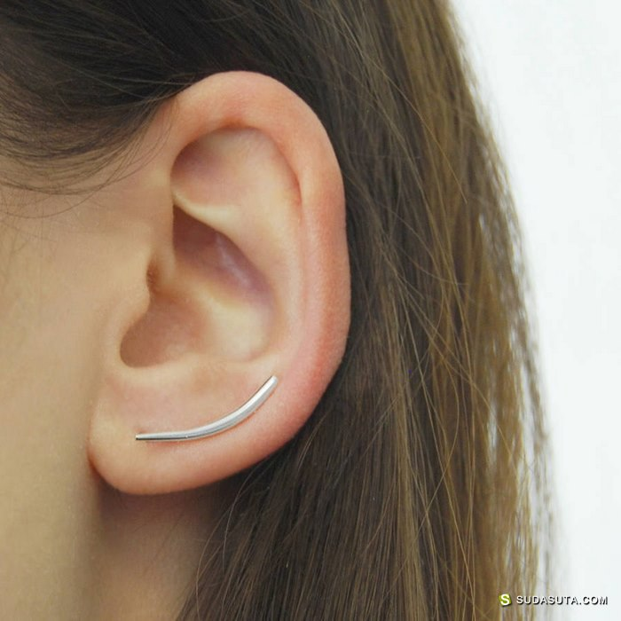 Otis Jaxon 极简主义耳饰设计欣赏