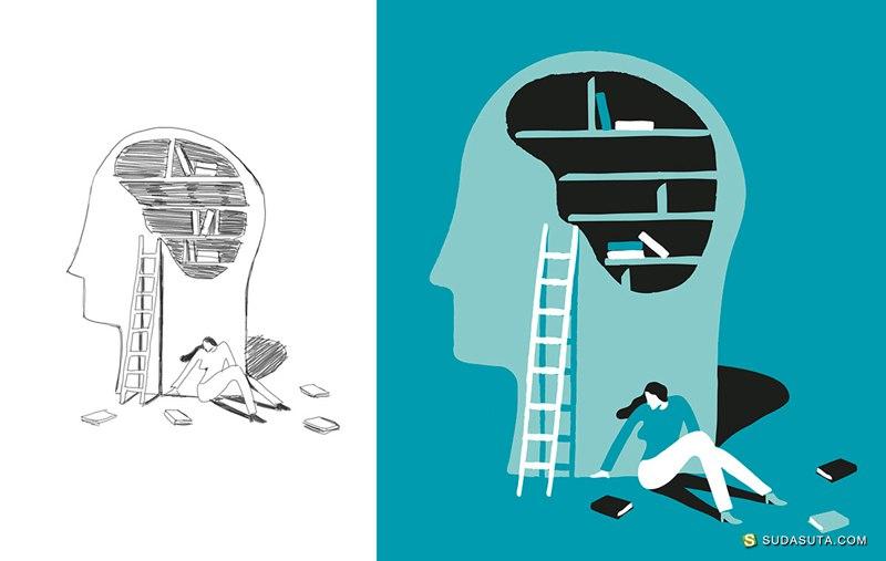 Quentin Monge 商业插画欣赏