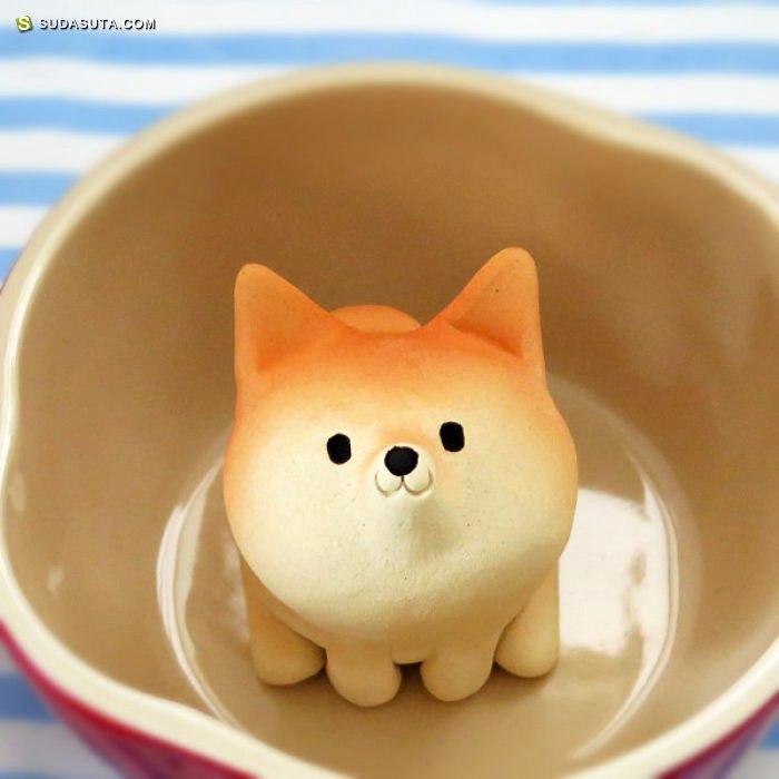 Tetsuya Iseda 萌蠢可爱的陶瓷艺术