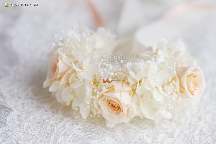 面包呀花 花朵饰品设计欣赏