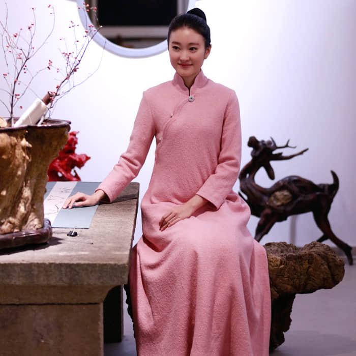 禅意中国风女装设计 霓衣云裳