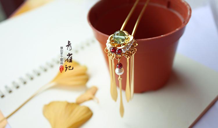 青雀记 古典主义的首饰设计欣赏