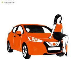 Agathe Sorlet 汽车插画欣赏