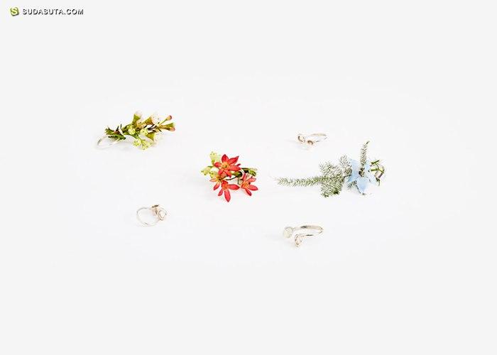 Gahee Kang 花的首饰设计欣赏