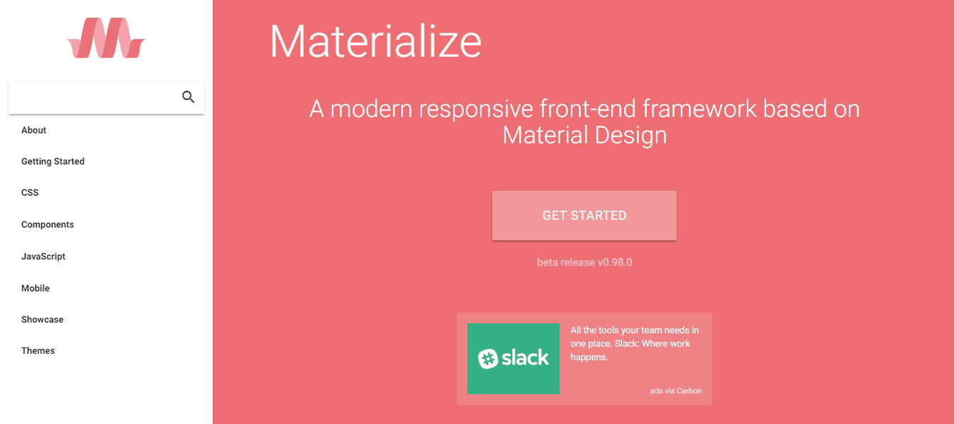 20套免费的设计资源 UI套件背景图标CSS框架