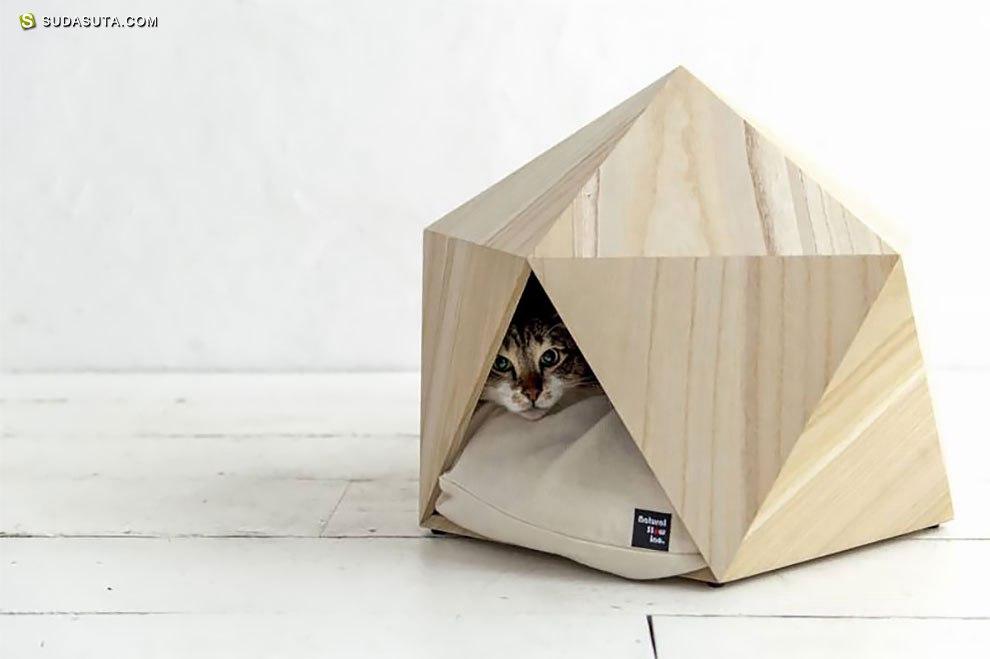 Natural Slow 木头的宠物房子