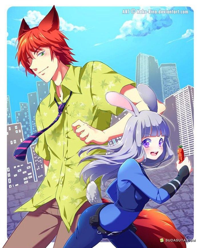 Neko Rina 少女漫画欣赏