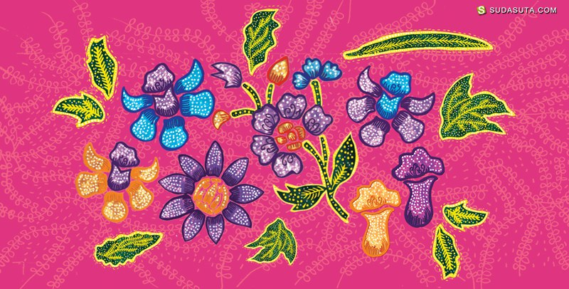 Zilin Yee 布衣纹样设计欣赏