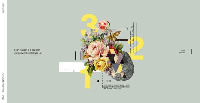 40+ 在线个人作品集网页设计欣赏