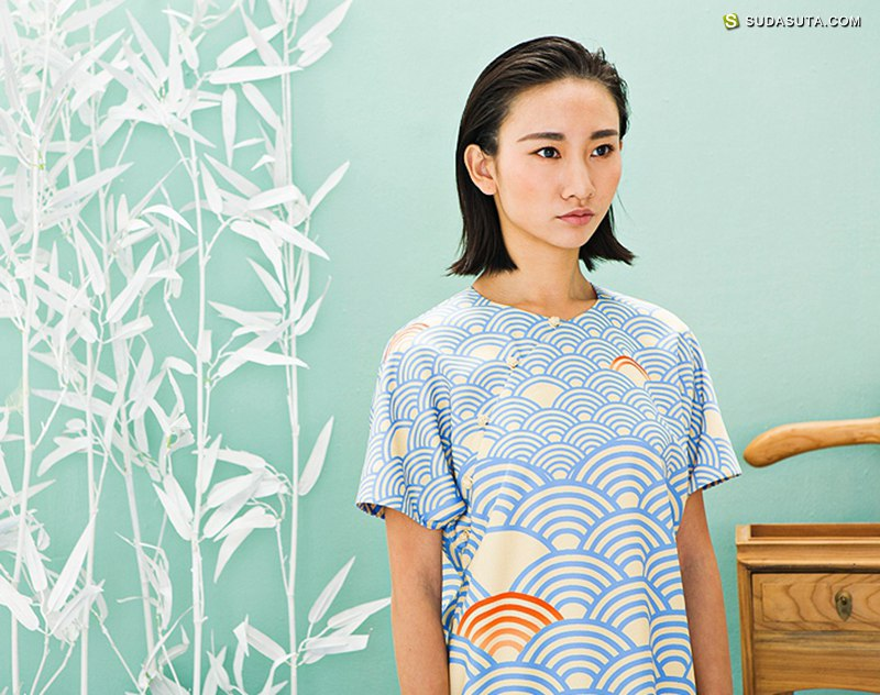 独立中国风女装设计品牌 RECLUSE 芥末原创