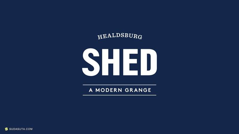 SHED 品牌及店铺设计欣赏