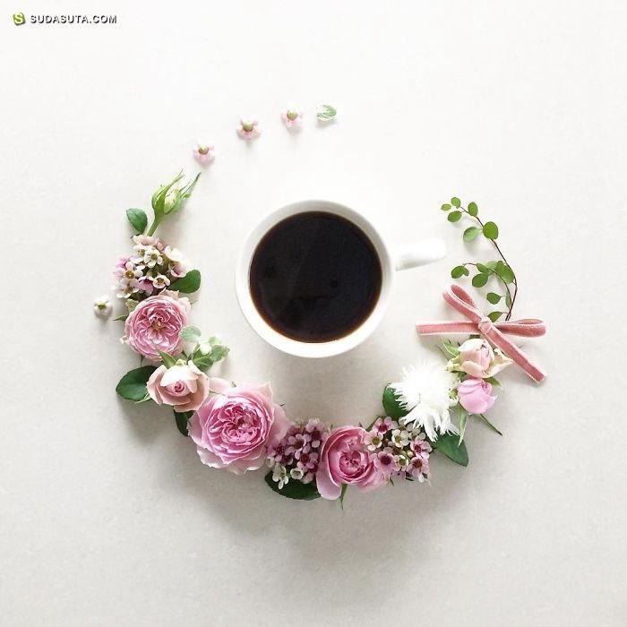 Sawa 咖啡与花