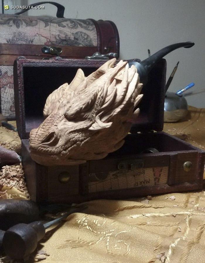 Sidrit Vaqari 手工木雕