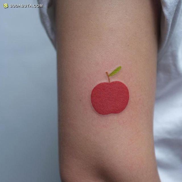 Victor Zabuga 迷你可爱的纹身艺术