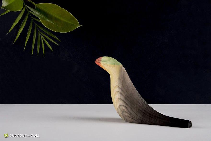 MoisésHernández 木头之鸟