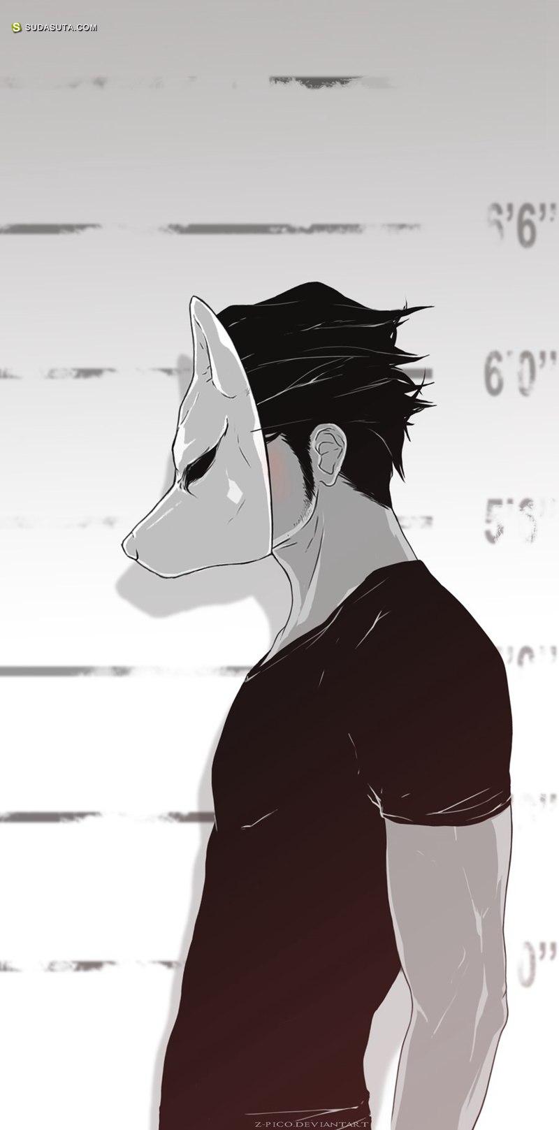 Z-Pico 漫画《男孩和狼》