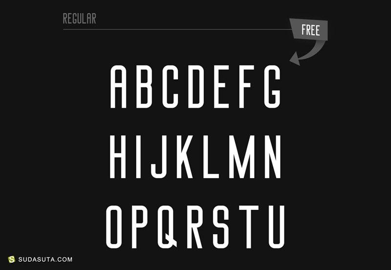 2017年第一季度90+免费英文字体下载分享