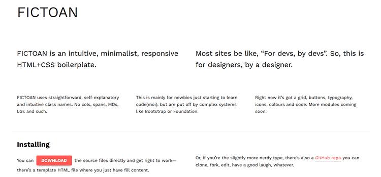 10个免费的CSS轻量级框架下载