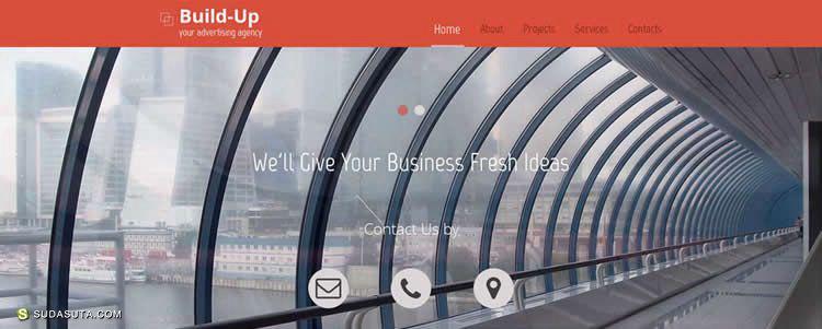 50个免费的响应式HTML5网页模板下载