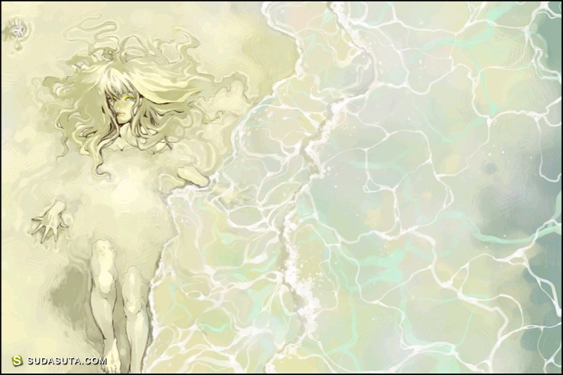 夢.子 少女漫画CG和风绘