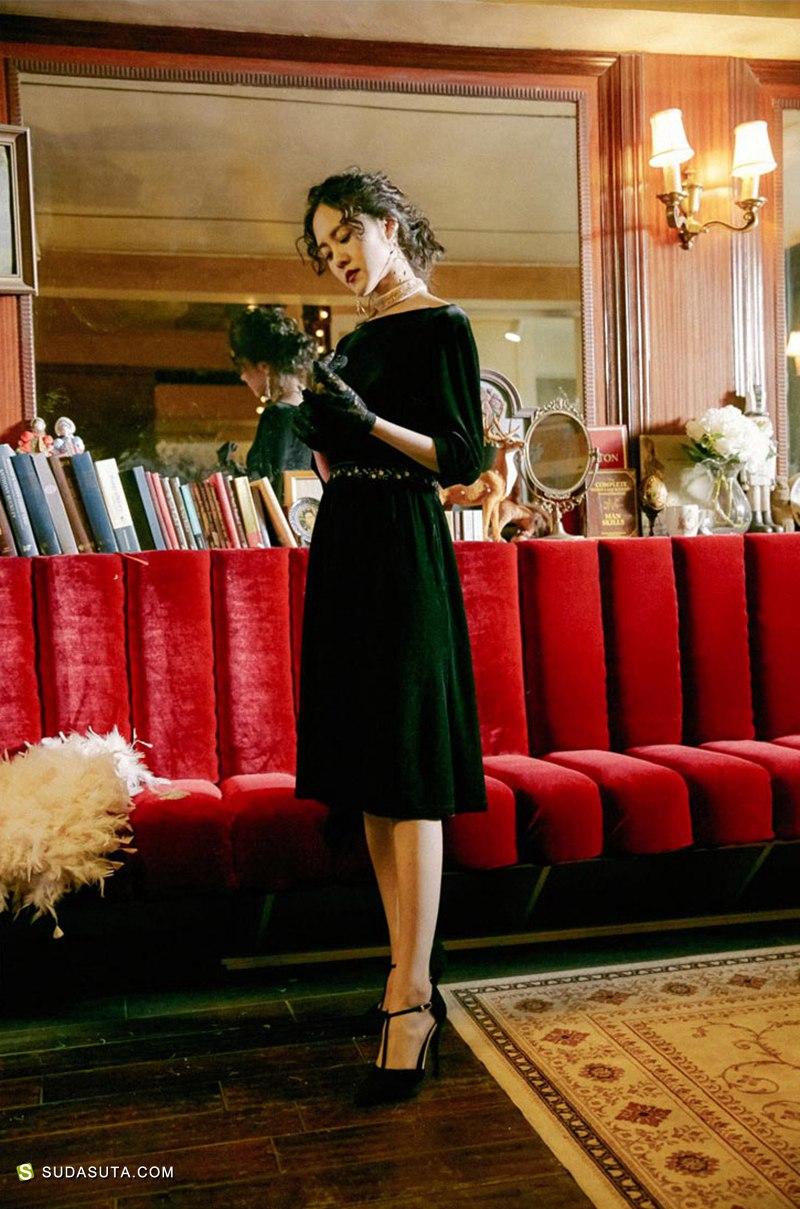 独立改良汉服设计 茉莉和扶苏