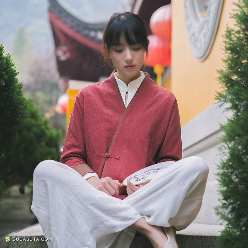 中式禅茶复古女装品牌 卿淑斋