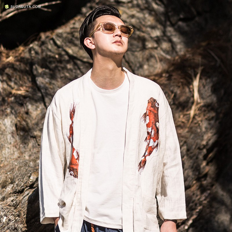 中国风 男装独立设计品牌 有鲤