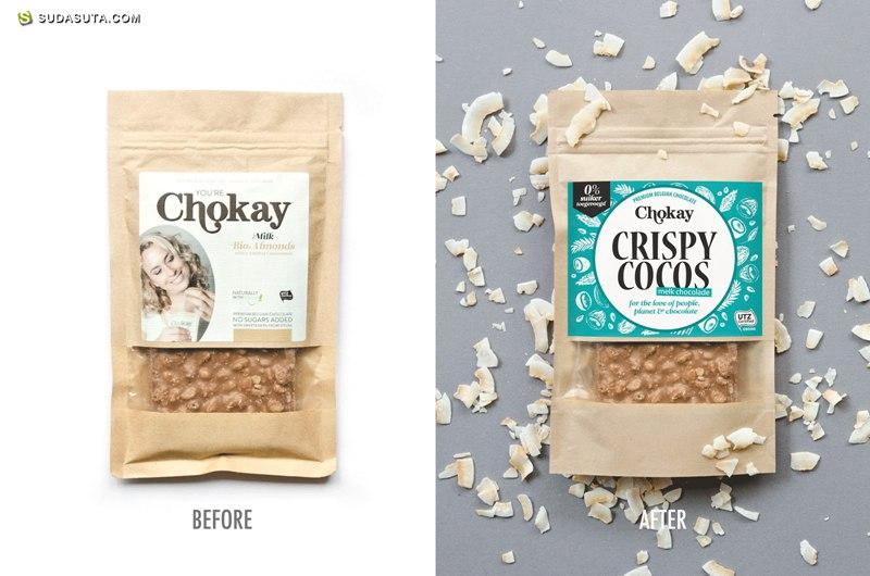 Chokay 巧克力包装设计欣赏
