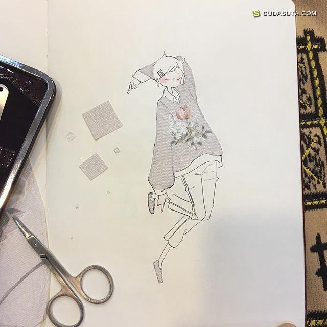 Ike/さよならの日 清新可爱的手绘本子
