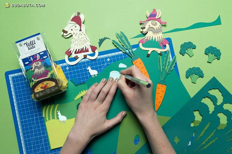 Inna Alimova 剪纸世界与包装艺术