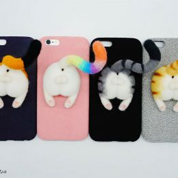 Miko Ho 可爱的喵星人PP手机壳设计