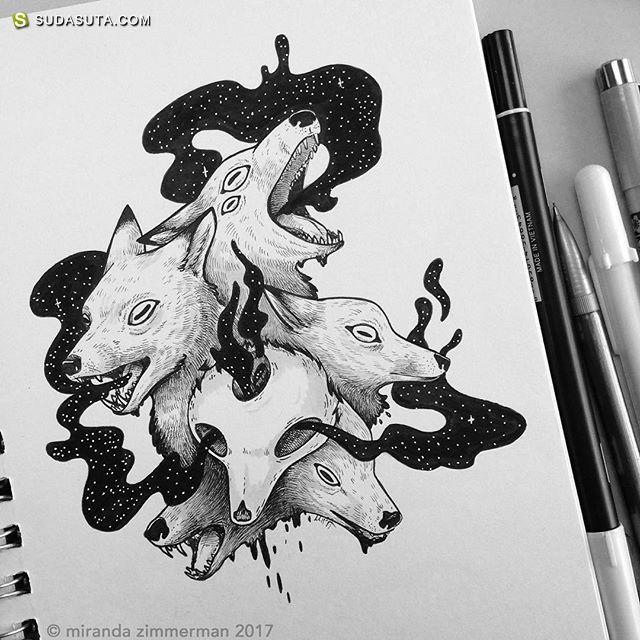 Mira 的手绘怪物日记