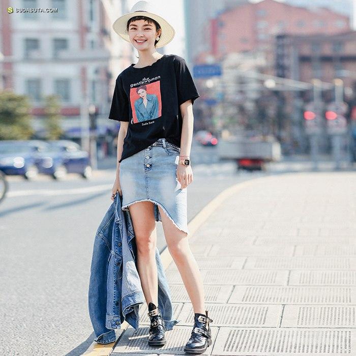 青春潮流女装品牌 小维独家定制