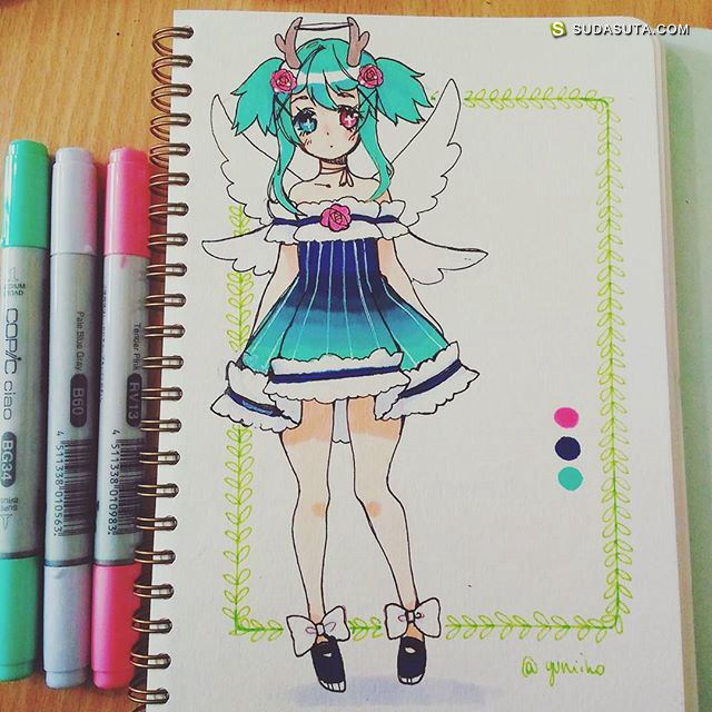Yuniiho 的少女涂鸦本子