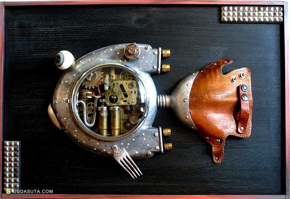 Artūras 旧蒸汽时代 玩具设计欣赏
