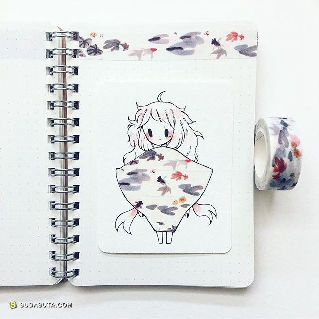 birduyen 可爱的手绘小插画