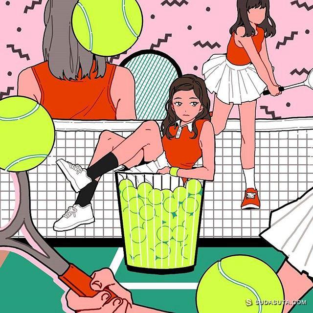 래현 时尚少女漫画