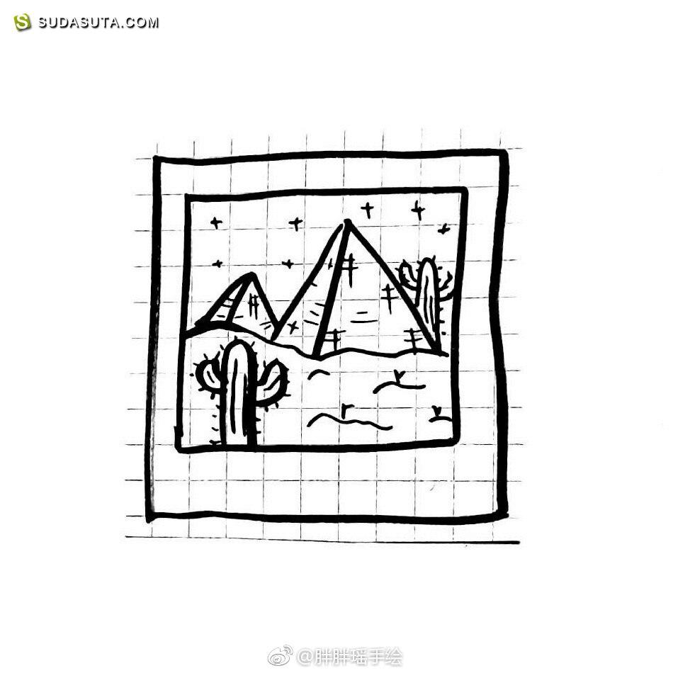 胖胖瑶 的打卡手绘日记