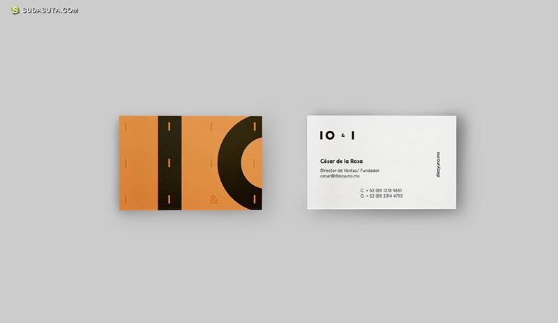 10 & Uno 品牌设计欣赏