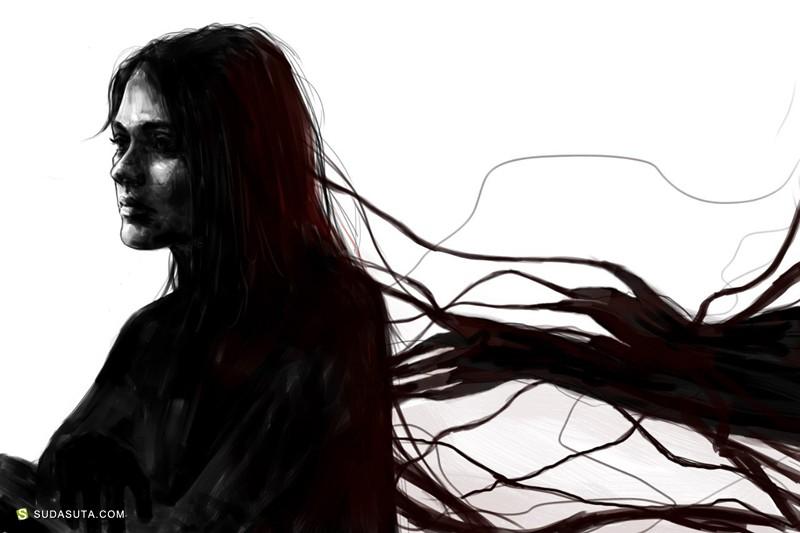 Alexandra Haynak 水彩色 时尚插画欣赏